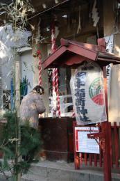 皆中稲荷神社初詣