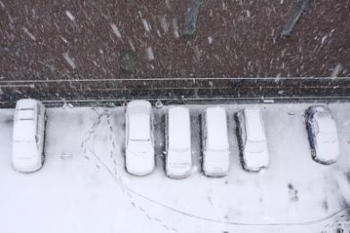 2/3雪景色