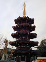 川崎大師5重の塔