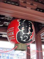 川崎大師巨大提灯