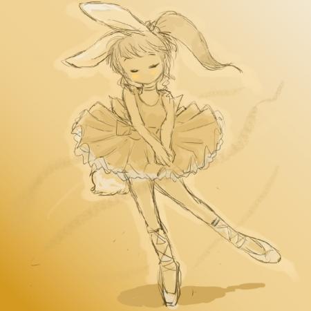 うさぎの踊り子