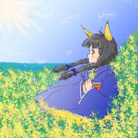 乙女狐初春を想う