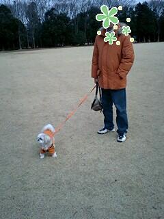 公園でパチリ