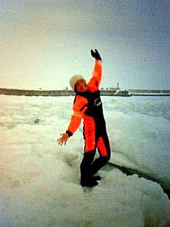 流氷ダンス調整