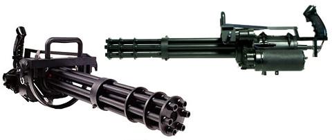 M134 ミニガン