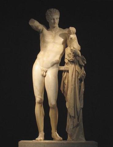 ヘルメスの像 521