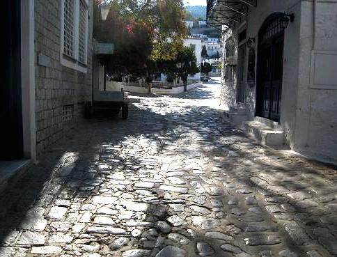 石の舗装 091