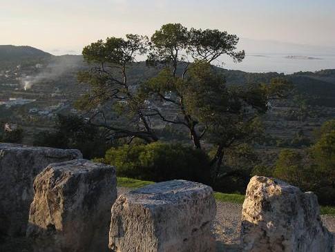 アフェア神殿の眺望 713