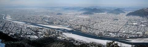 blog雪の長良川