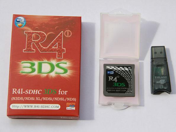 R4i SDHC 3DS 2