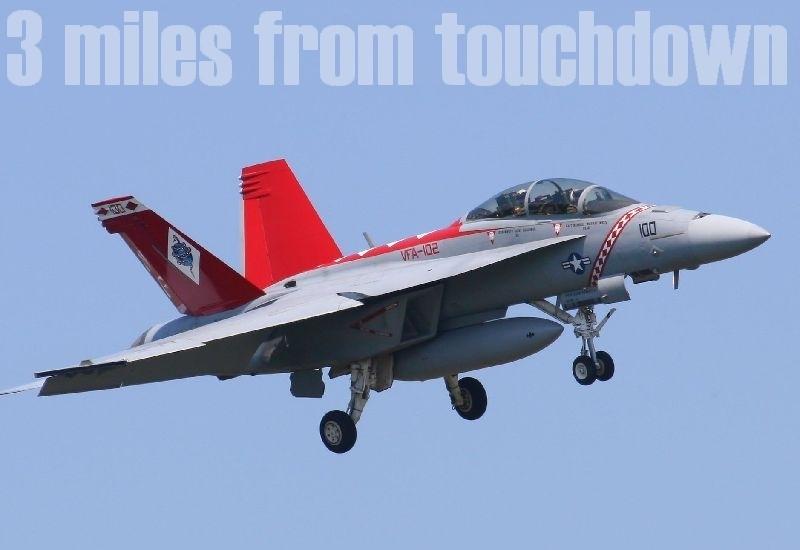 厚木基地 F-18ホーネット NF100