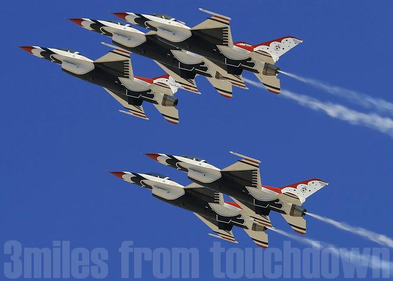 F--16 サンダーバーズ ネリスエアショー