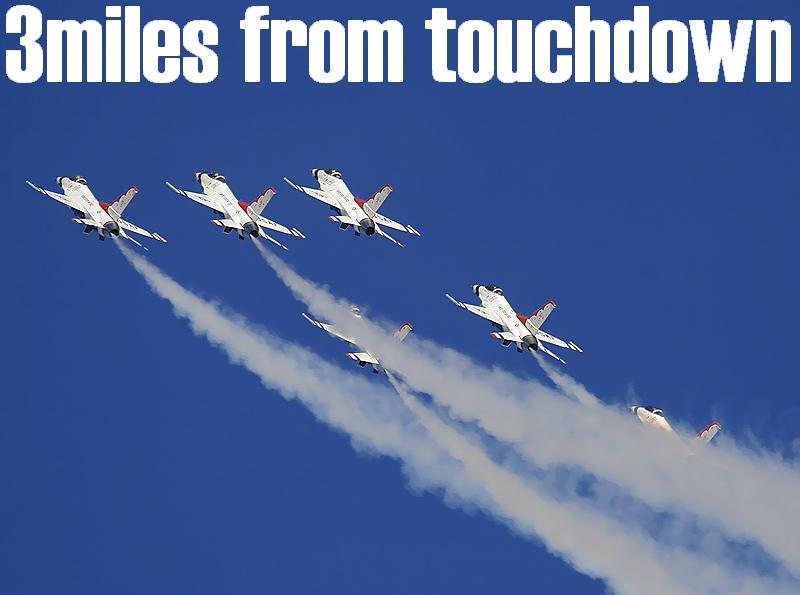F-16 サンダーバーズ ネリスエアショー