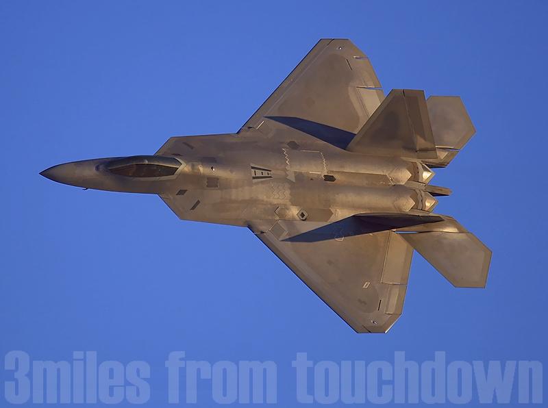 F-22Aラプター ネリスエアショー