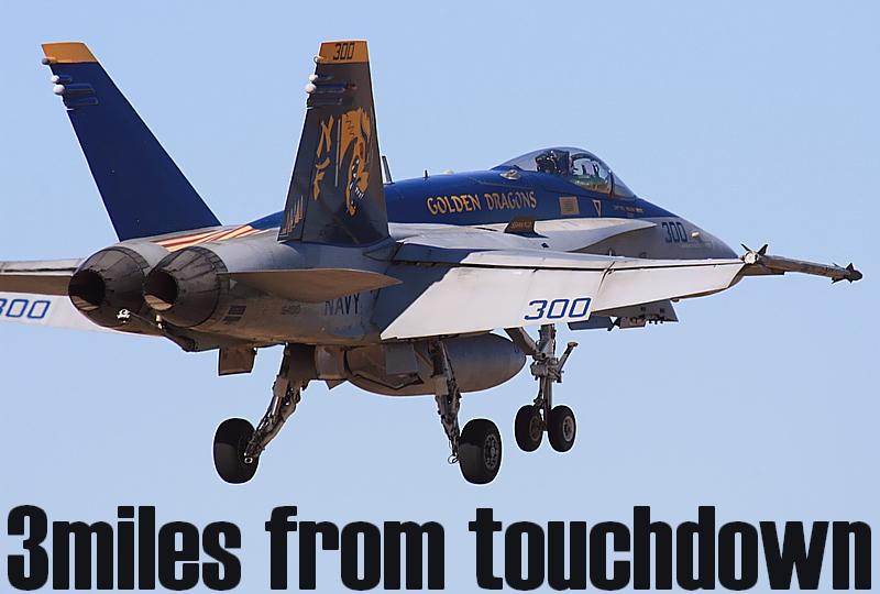 厚木基地 F-18ホーネット NF300