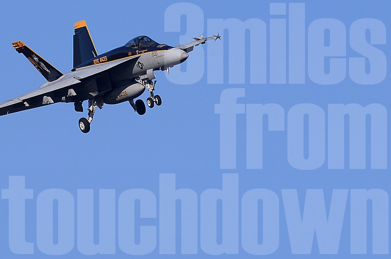 厚木基地 F-18ホーネット