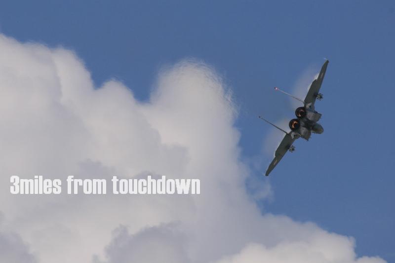 百里基 地航空祭 F-15Jイーグル