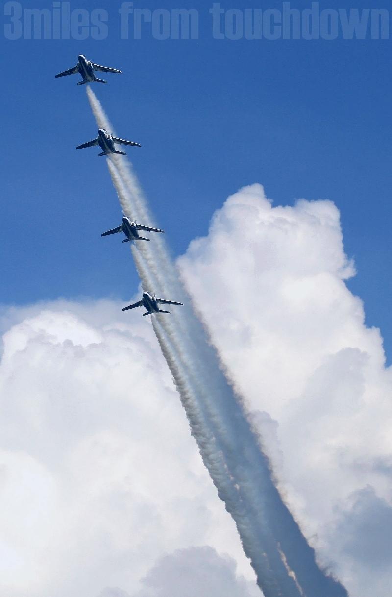 百里基地 航空祭 ブルーインパルス