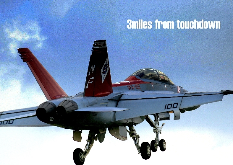 厚木基地 F/A-18ホーネット