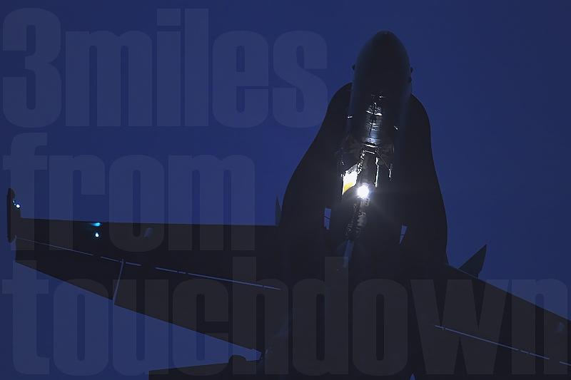 厚木基地F-18ホーネット ナイトセッション