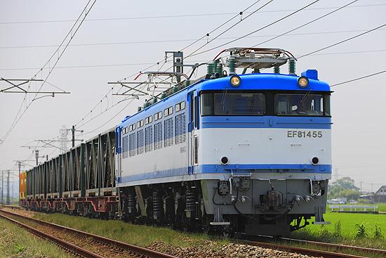 青い機関車
