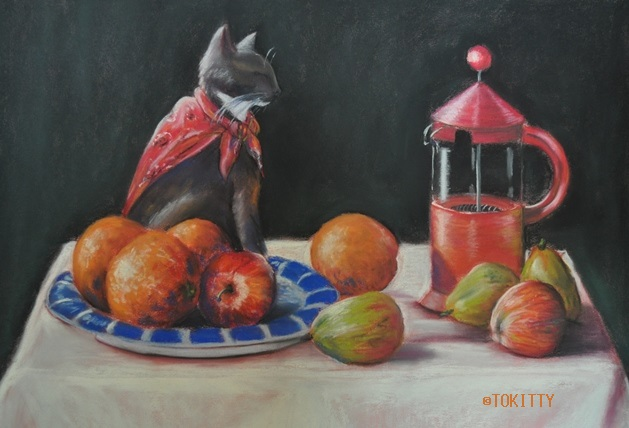 mimi in a still life©TOKITTY