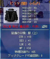 New花火 補助装備(STR鎧上)