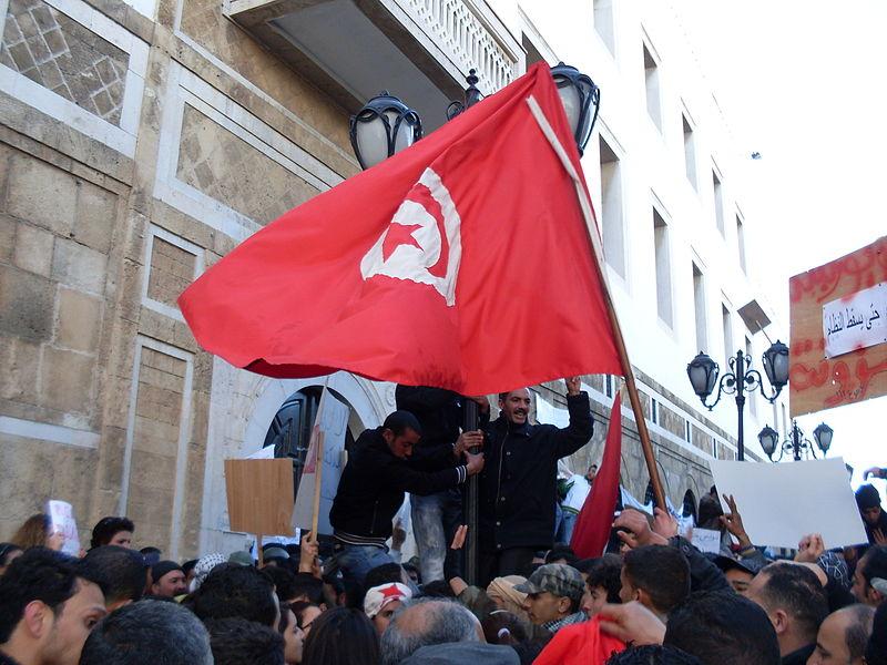 チュニジア・ジャスミン革命画像