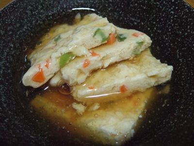 豆腐&鶏ひき肉つくねあんかけ