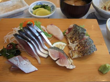〆サバ・炙りサバ定食2