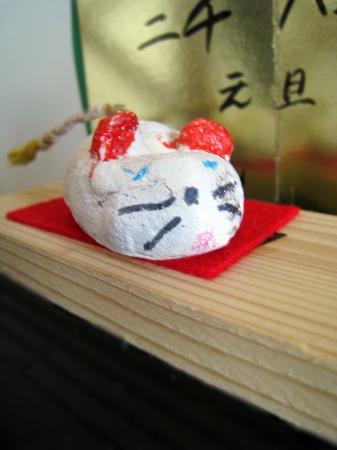 ネズミの置物2