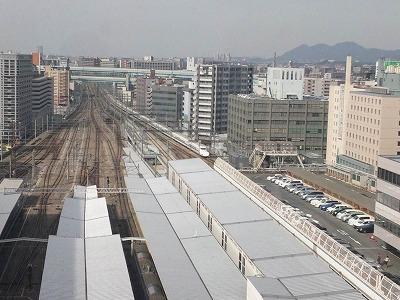 博多駅ビュー