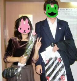 妻に花をくれた彼は日本が大好き!