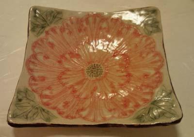 牡丹のお皿