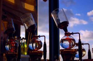 空にコーヒー