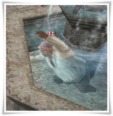 ハラさんの水泳