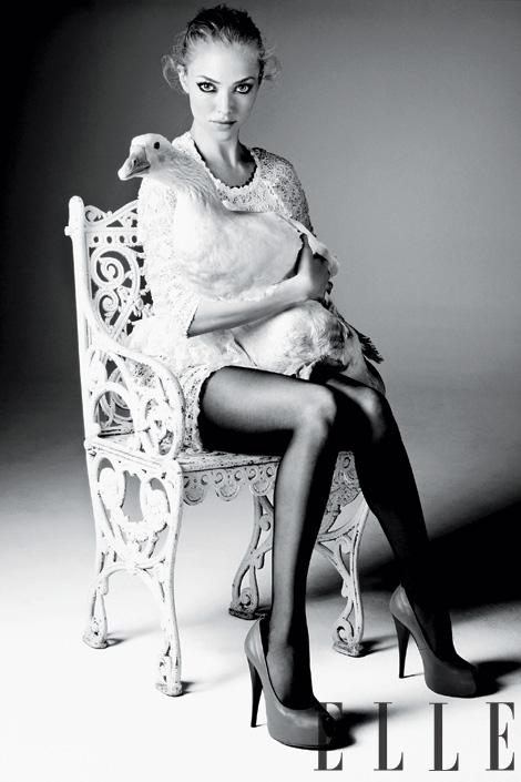Amanda Seyfried ELLE Magazine April 2011