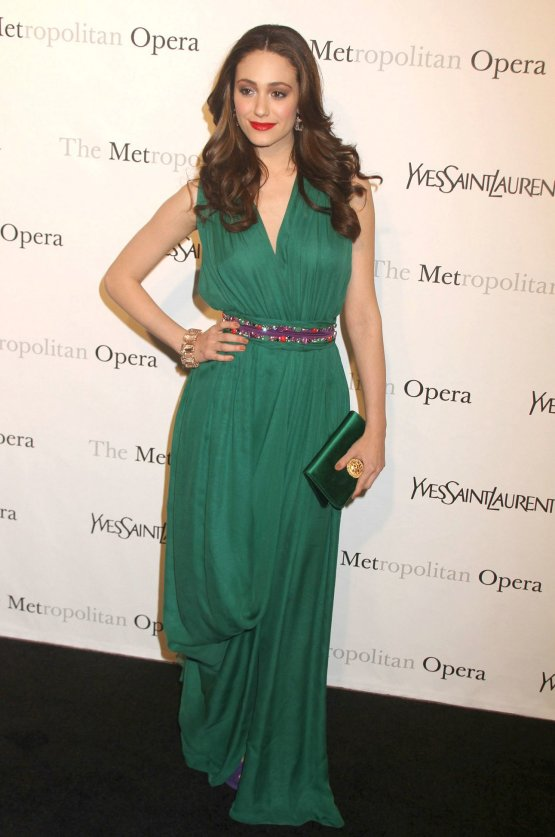 Emmy Rossum At The Metropolitan Opera