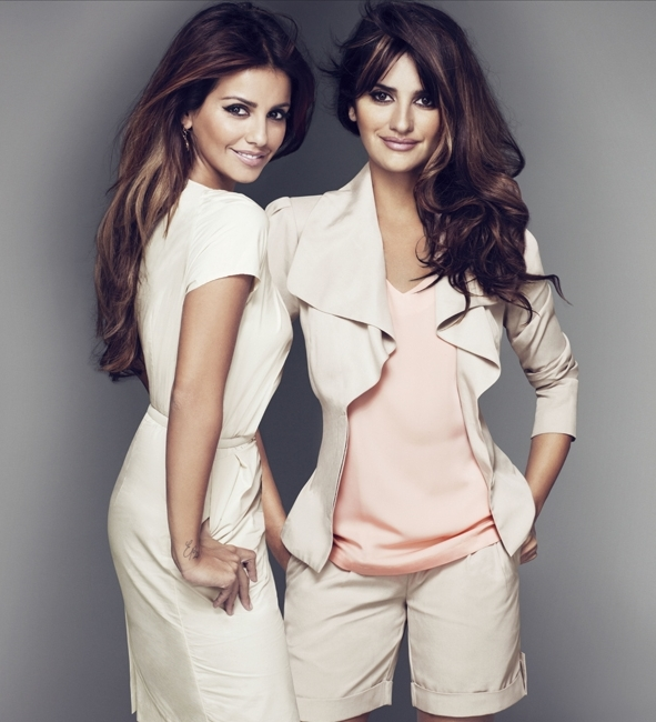 Penelope and Monica Cruz's Second Collection for Charles Vogele