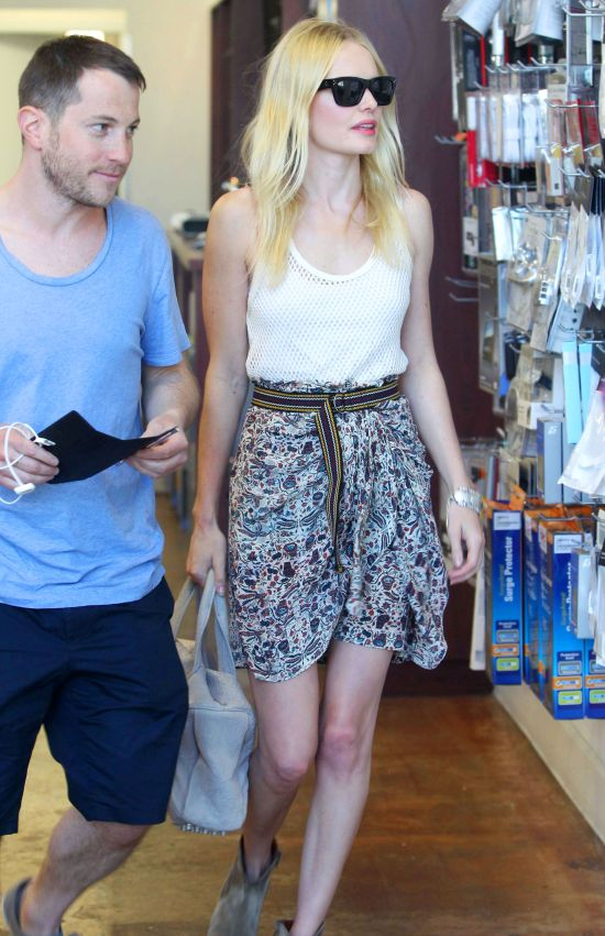 Kate Bosworth at the Mac Store on March 31