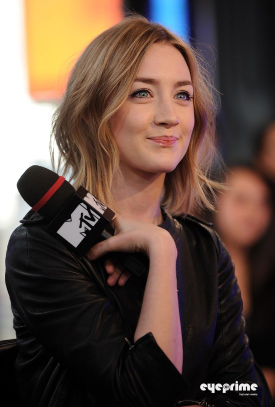 Saoirse Ronan appears on MTVs The Seven in NY