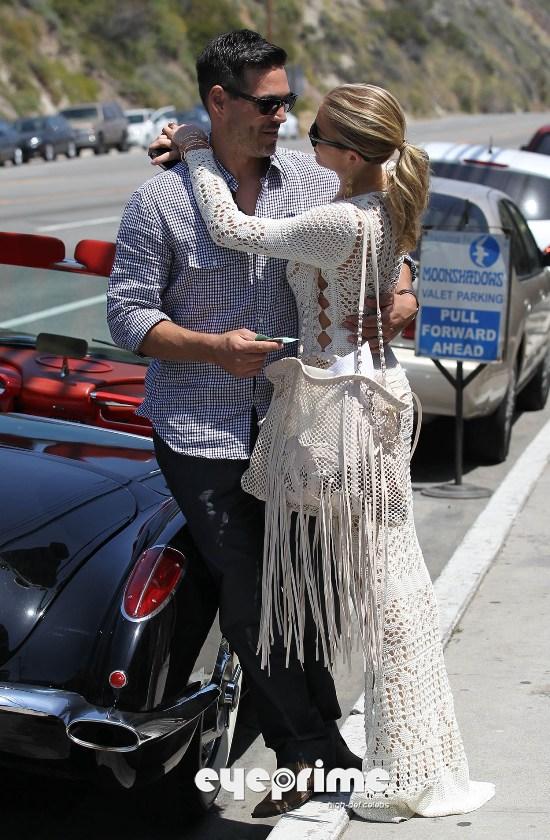 LeAnn Rimes And Eddie Cibrian Romantic Afternoon