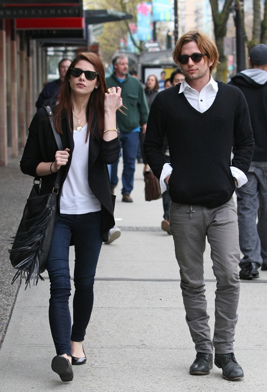 Ashley Greene & Jackson Rathbone out and about in Vancouver