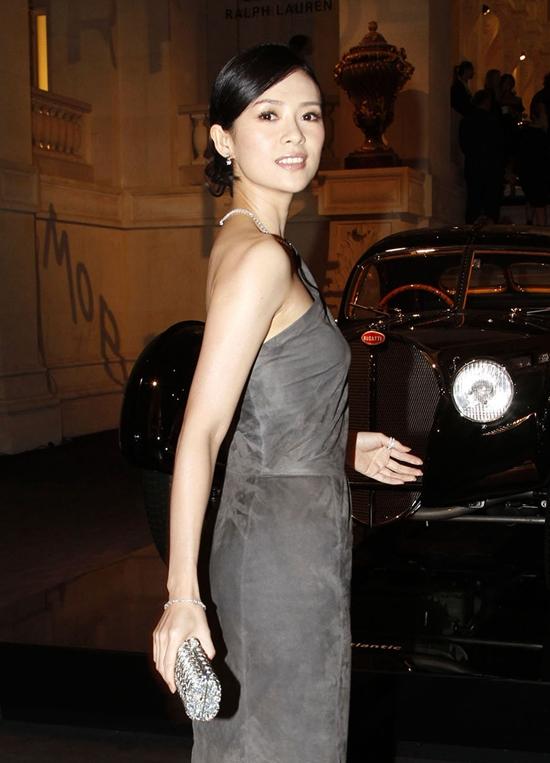 Zhang Ziyi at Ralph Lauren Vintage Cars Exhibition Launch in Paris