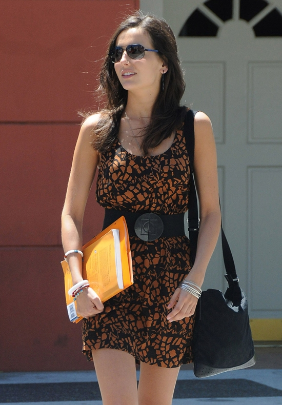 Camilla Belle out in Beverly Hills