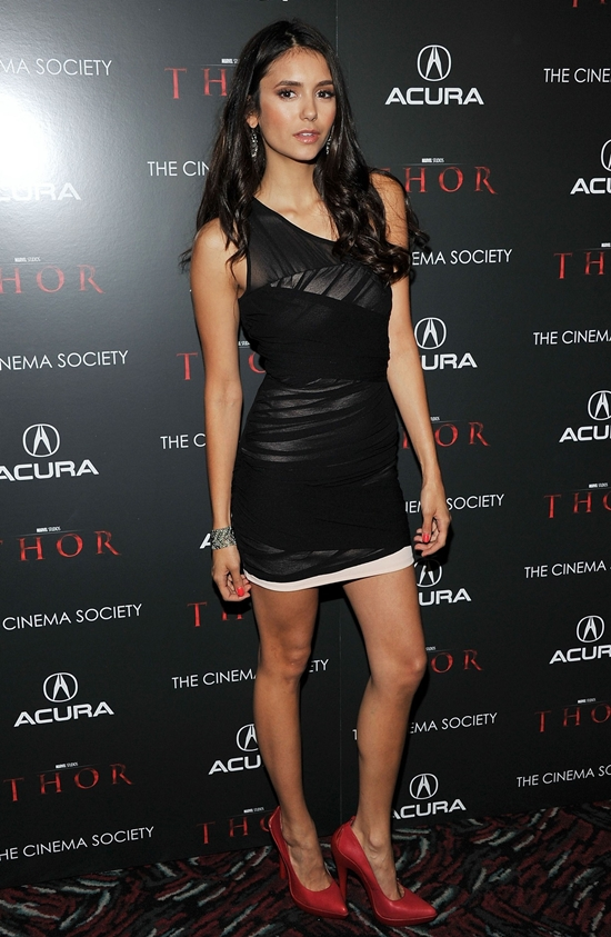 Nina Dobrev Attends the Screening of