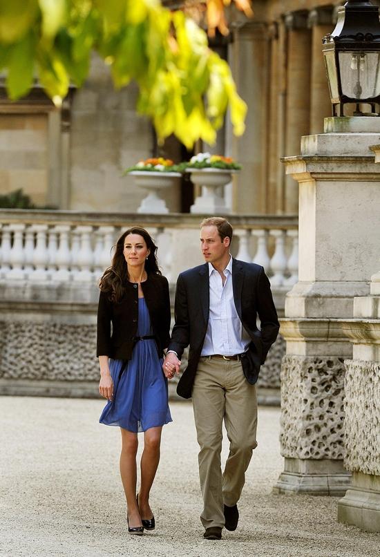 Princess Catherine & Prince William left Buckingham Palace