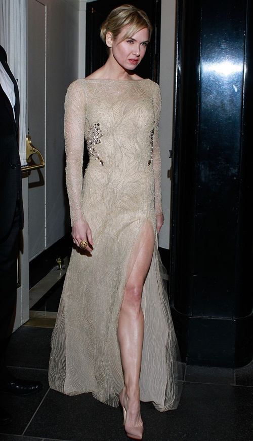 Renee Zellweger at the 2011 Costume Institute Gala