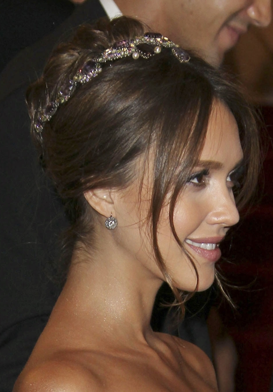 Jessica Alba at The MET Gala in New York City