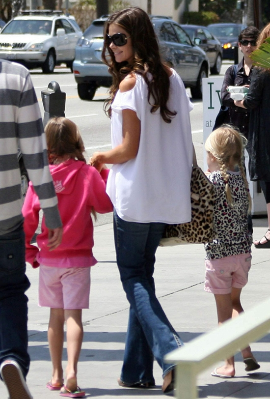 Denise Richards enjoys a Mother's Day with her family